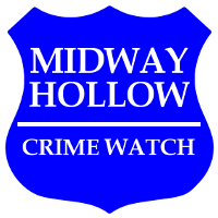 Midway Hollow Crime Watch Logo